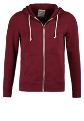 Tom Tailor Denim Tracksuit Top Red Grape Bordeaux