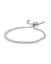 Pandora Design Bracelet Sterling Silver And Cubic Zirconia Sparkling Strand Moments Collection