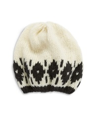 Wooden Ships Slouchy Knit Beanie Cream