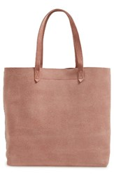 Madewell Medium Suede Transport Tote