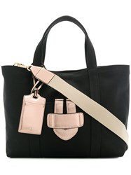 Tila March Simple Small Tote Bag Black