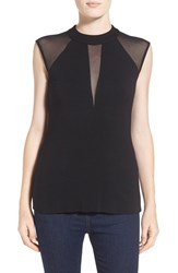 Women's Bailey 44 'Void' Sheer Inset Sleeveless Top