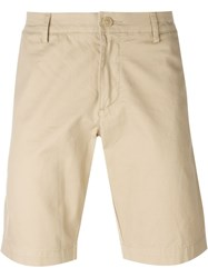 Lacoste Slim Fit Shorts Nude And Neutrals