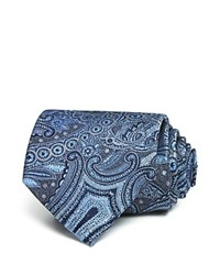Bloomingdale's The Men's Store At Monochrome Paisley Classic Tie Navy
