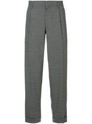 Kolor Tapered Tailored Trousers Grey