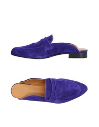 Boemos Mules Bright Blue