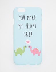 Asos Iphone 6 And 6S You Make My Heart Saur Googly Eye Case Multi