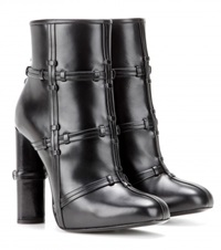 Tom Ford Patchwork Leather Boots Black