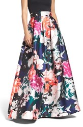 Eliza J Women's Floral Ball Skirt