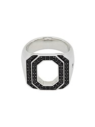 Tom Wood Metallic Queen Spinel Sterling Silver Ring