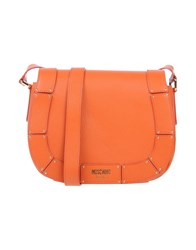 Moschino Handbags Orange