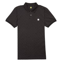 Pretty Green Polka Dot Polo Shirt Black