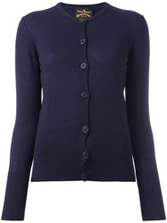 Vivienne Westwood Anglomania Classic Cardigan Blue