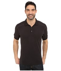 Kuhl Edge Short Sleeve Shirt Raven Men's Short Sleeve Button Up Black