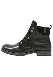 Dockers By Gerli Laceup Boots Schwarz Black