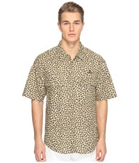 Vivienne Westwood Anglomania Lee Bowling Shirt Leopard Men's Clothing Animal Print