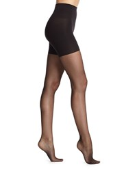 Spanx Back Seam Sheer Tights Black