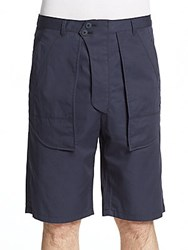 Helmut Lang Inside Out Shorts Navy