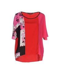 Space Style Concept Shirts Blouses Women Red