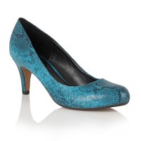 Lotus Ardice Animal Print Courts Turquoise