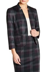 Nine West Cut Out Collar Jacket Red