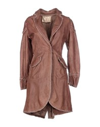 Le Cuir Perdu Coats And Jackets Full Length Jackets Women Brown