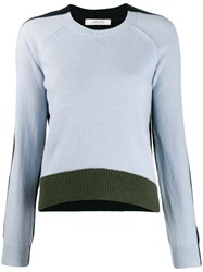 Dorothee Schumacher Colour Block Design Jumper Blue