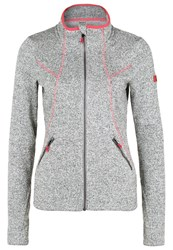 Roxy Crystal Fleece Mid Heather Grey Light Grey