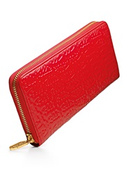 Folli Follie Logomania L Zip Wallet Red