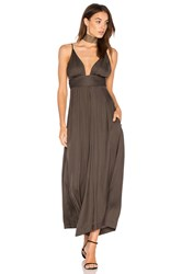One Teaspoon The Le Freak Jumpsuit Charcoal