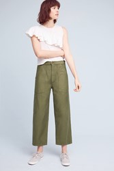 Anthropologie Citizens Of Humanity Kendall Wide Leg Jeans Moss