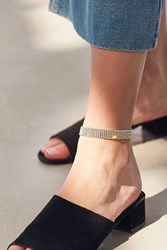 Urban Outfitters Rhinestone Anklet Silver