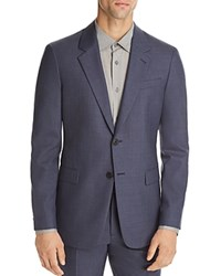 Theory Chambers Slim Fit Suit Separate Sport Coat Storm Blue