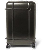 Fabbrica Pelletterie Milano Globe Spinner 68Cm Polycarbonate Suitcase Green