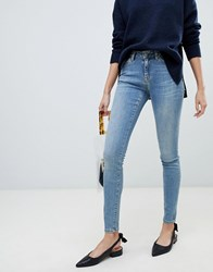 Selected Femme Skinny Jean Medium Blue Denim
