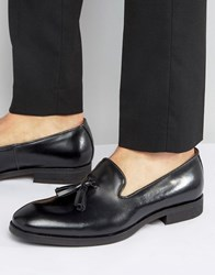 Selected Tassel Loafer Black