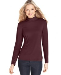 Styleandco. Style And Co. Long Sleeve Mock Turtleneck