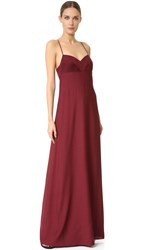 Narciso Rodriguez Gown Claret
