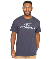 O'neill Supreme Short Sleeve Screen Tee Dark Navy Men's Short Sleeve Pullover