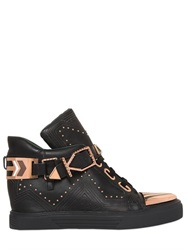 Ivy Kirzhner Lunar Studded Leather High Top Sneakers