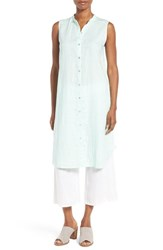 Eileen Fisher Women's Organic Linen Tunic Shirt