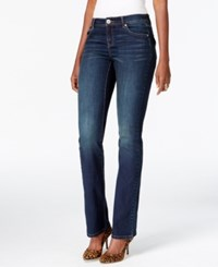 Inc International Concepts Curvy Fit Bootcut Unicorn Wash Jeans Only At Macy's