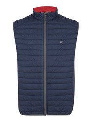 Bugatti Airseries Quilted Gilet Navy