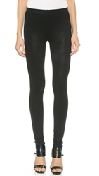 David Lerner The Classic Coated Leggings Classic Black