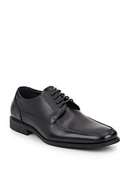 Kenneth Cole Reaction Bottom Dollar Leather Oxfords Black