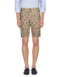 Ganesh Trousers Bermuda Shorts Men Beige