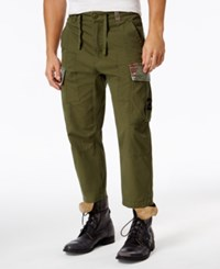 Lrg Men's Tapered Cargo Pants Military Olive