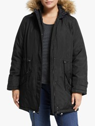 Junarose Curve Faro Expedition Padded Parka Black