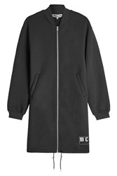 Mcq By Alexander Mcqueen Zipped Jacket With Cotton Black
