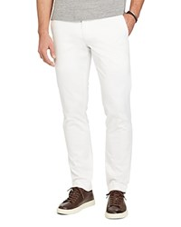Polo Ralph Lauren Stretch Twill Slim Fit Pants White